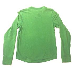 Abercrombie & Fitch Shirts - Abercrombie Athletic-Fit Muscle Sweater  Green jb2